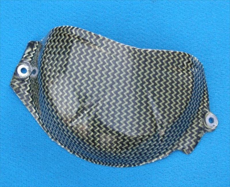 バイク用品 吸気系 エンジンBATTLE.F バトルファクトリー カーボン2次カバー クラッチ ZX-6R 09-13BA28-K01-08 4548664087211取寄品 スーパーセール