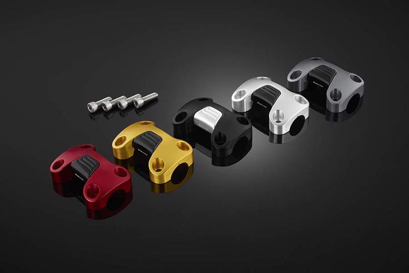 バイク用品 ハンドルBIKERS バイカーズ ハンドルバークランプ28.6mm ブラック ADV150 20H0714-BLK 4550255371937取寄品 セール