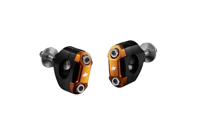 バイク用品 ハンドルBIKERS バイカーズ 28.6 FatBarクランプセット O.GLD GROM 13-20H0243-OGD 4548916412907取寄品 セール