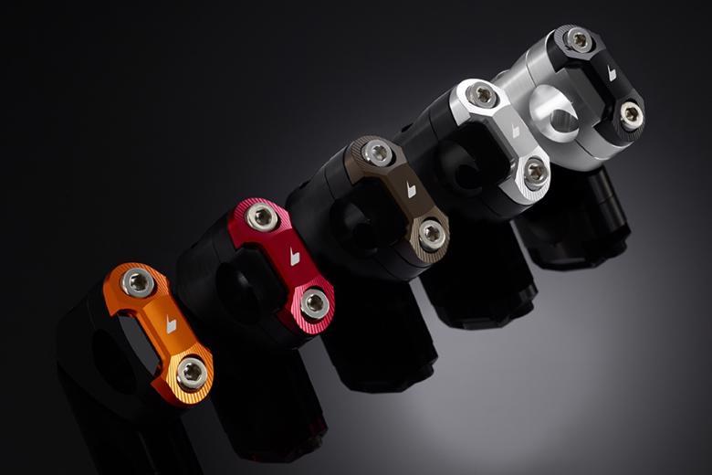 バイク用品 ハンドルBIKERS バイカーズ 28.6 FatBarクランプセット ブルー PCX125 150 10-20H0257-BLU 4548916421206取寄品 セール