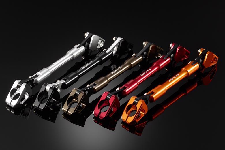 バイク用品 ハンドルBIKERS バイカーズ 純正ハンドル用ブレース ブラック PCX125 150 10-20H0263-BLK 4548916421305取寄品 セール
