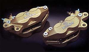【BREMBO】【ブレンボ】【バイク用】キャリパーアンドサポートセット キャスティング40ミリ R1-Z【WQ4201+WQ3201】