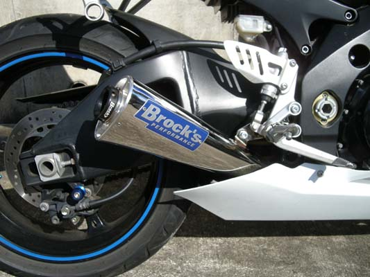 バイク用品 マフラーBROCK'S PERFORMANCE ブロックス エイリアンヘッド EXシステム 14 BLK GSXR1000 07-08S1007-AH-CBC 4548664111374取寄品 セール