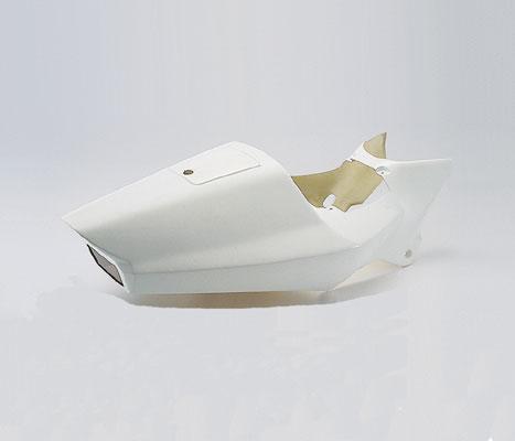 バイク用品 外装CF-POSH シーエフポッシュ ストリートシートタイプ3 ホワイト NS-1 -94230077 4947934005571取寄品 セール