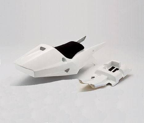 バイク用品 外装CF-POSH シーエフポッシュ レーシングシートホワイト TZM50R211070 4947934006820取寄品 セール