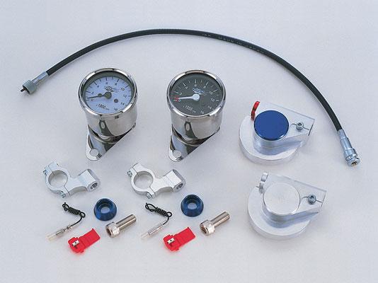 バイク用品 電装系CF-POSH シーエフポッシュ タコメーター(BK)ギヤボックス SV 6Vモンキー270142 4947934008558取寄品 スーパーセール