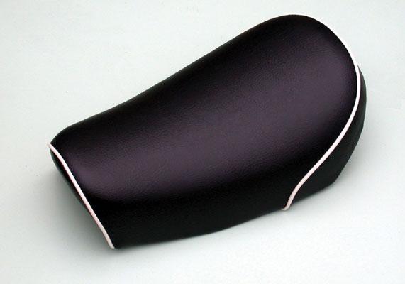 バイク用品 外装CF-POSH シーエフポッシュ ラウンドバックシートPL ブラックパイプ 6V&12Vモンキー270604 4947934022325取寄品 セール