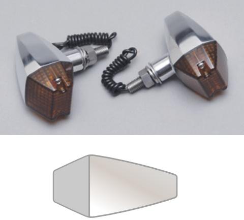 バイク用品 電装系CF-POSH シーエフポッシュ プリズムウインカー SI OR モンキー ゴリラ271530 4947934030795取寄品 セール