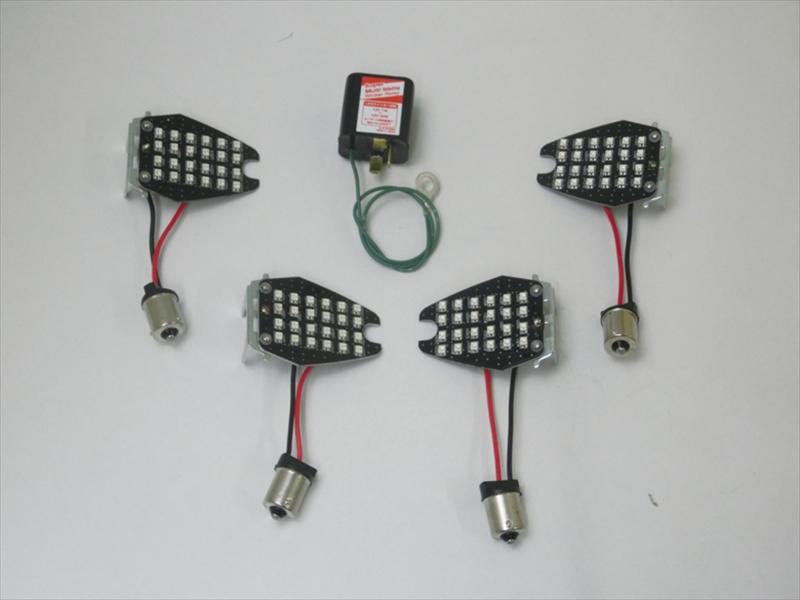 バイク用品 電装系CF-POSH シーエフポッシュ LEDカスタマイジングキットシーケンシャル GSX-S1000 F V-Strom1000 650 SV650 X409980 4947934073457取寄品 セール