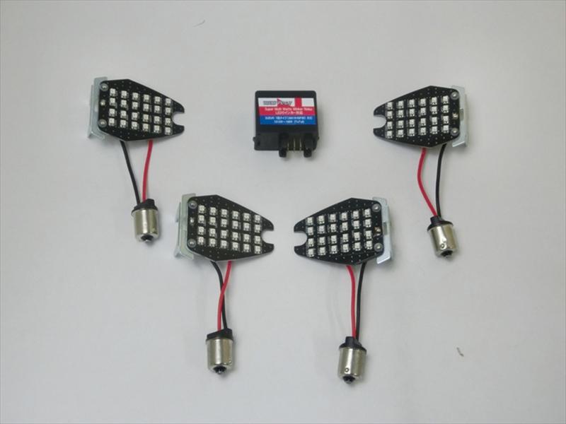 バイク用品 電装系CF-POSH シーエフポッシュ LEDカスタマイジングキットシーケンシャル GSR750 V-Strom650428980 4947934073471取寄品 セール