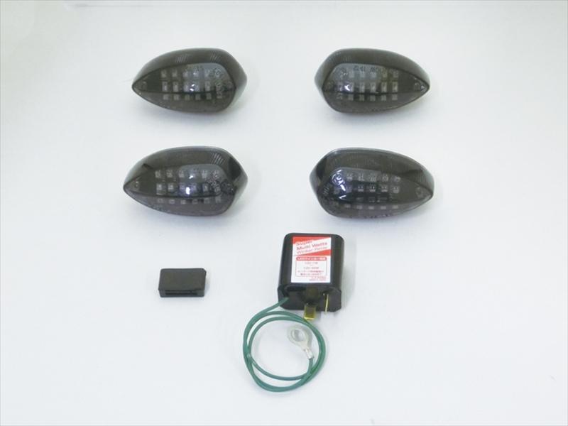 バイク用品 電装系CF-POSH シーエフポッシュ LEDカスタマイジングキットシーケンシャル スモークレンズ MT-25 03 16-19・YZF-R25 R25 ABS R3 ABS 15-18676982 4947934075123取寄品 セール