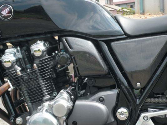 バイク用品 吸気系 エンジンコワース COERCE RSエアクリーナーカバー FRP黒ゲル CB400SF SPEC30-42-CEFB1409 4562195029618取寄品 セール