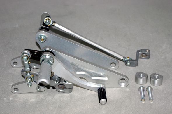 バイク用品 ステップコワース COERCE フィクスドレーシングステップ TYPE-2 W650 4000-6-BK26 4562195036265取寄品 セール