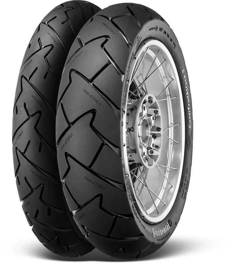 バイク用品 タイヤ ホイールコンチネンタル CONTINENTAL ContiTrailAttack 2 90 90V21 M C 54V TL4019238590616 4019238590616取寄品 セール