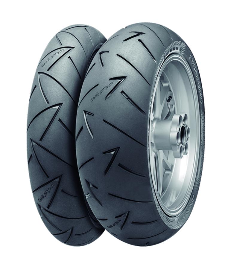 バイク用品 タイヤ ホイールコンチネンタル CONTINENTAL コンチ・ロードアタック 2 170 60ZR17 M C (72W) TL4560385764288 4560385764288取寄品 セール