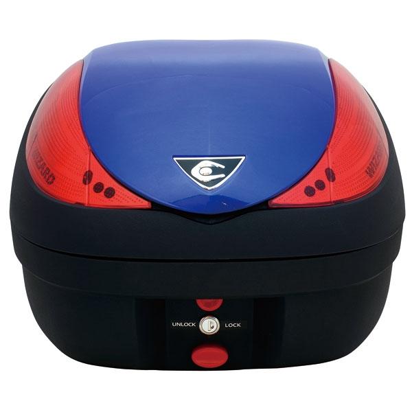 バイク用品 ケース(バッグ) キャリアクーケース クーケース V36 ウィザード BASIC メタリックブルーCN30070 4580115159948取寄品 スーパーセール