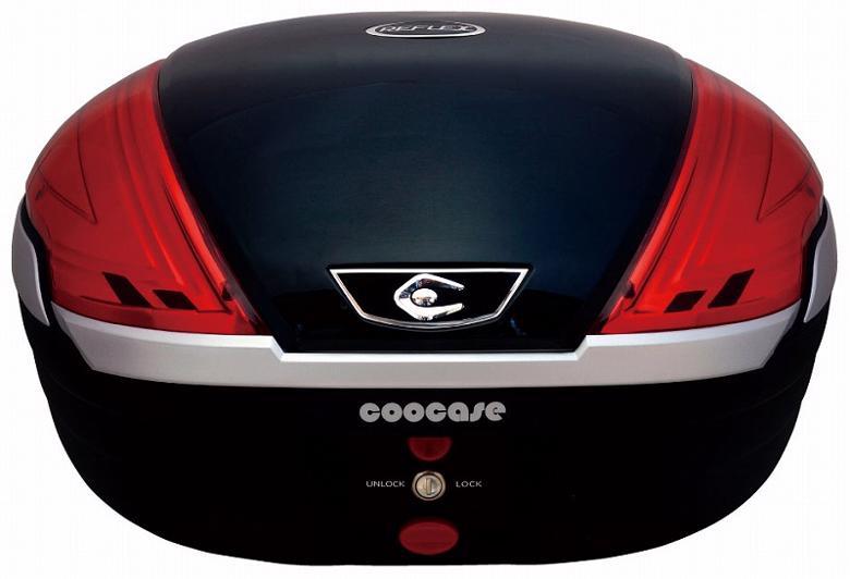 バイク用品 ケース(バッグ) キャリアクーケース クーケース V50 リフレックス SL メタリックブラックCN55010 4582115809533取寄品 セール