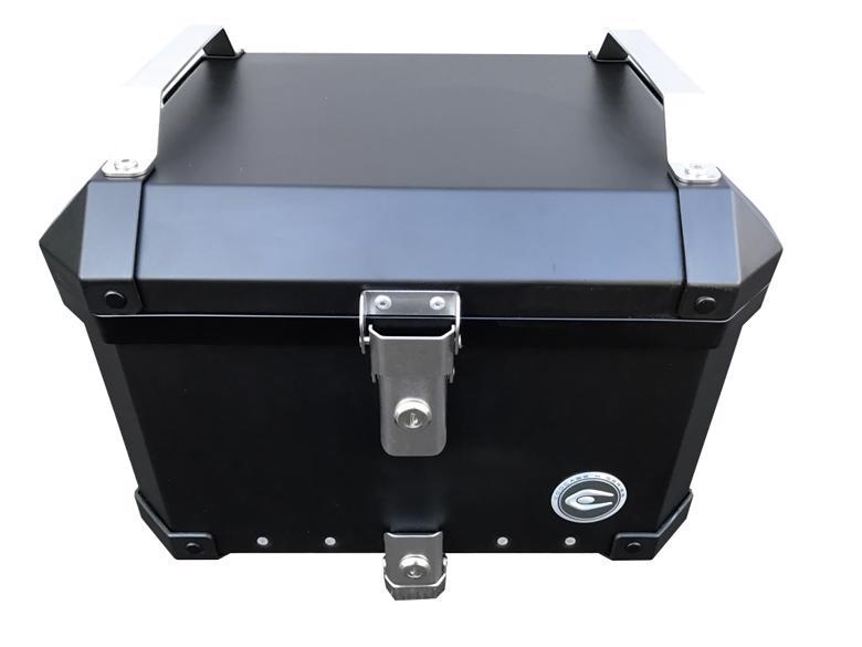 バイク用品 ケース(バッグ) キャリアクーケース クーケース X1 アルミトップケース 40L マットブラックCCX100B 4589440531252取寄品 スーパーセール