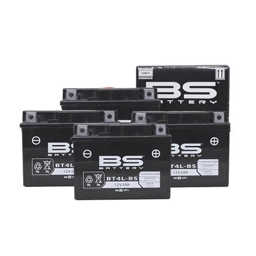 バイクパーツ バイクバッテリー【1個売り】BTX4L-BS+(YT4L-BS、YTX4L-BS 互換)液別BSバッテリー BTX4L-BS+ 取寄品