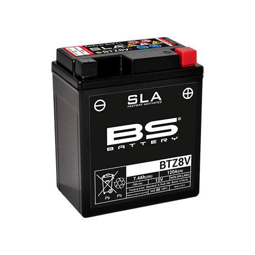 バイクパーツ バイクバッテリーBTZ8V(GTZ8V 互換)BSバッテリー BTZ8V 取寄品