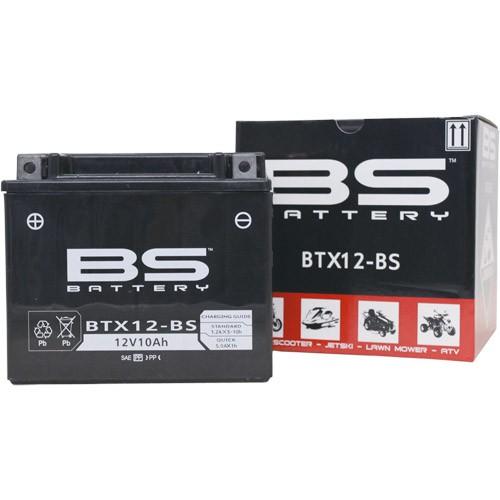 バイクパーツ バイクバッテリー【1個売り】BTX12-BS (YTX12-BS 互換)BSバッテリー BTX12-BS 取寄品