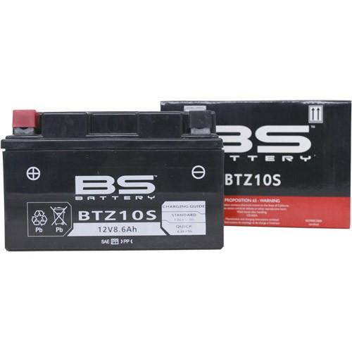 バイクパーツ バイクバッテリー【1個売り】BTZ10S (YTZ10S 互換)BSバッテリー BTZ10S 取寄品