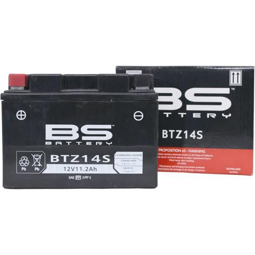 バイクパーツ バイクバッテリー【1個売り】BTZ14S (YTZ14S 互換)BSバッテリー BTZ14S 取寄品