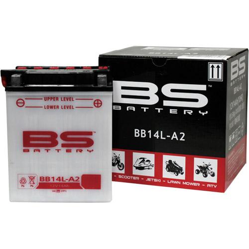 バイクパーツ バイクバッテリーBB14L-A2 (YB14L-A2互換)BSバッテリー BB14L-A2 取寄品