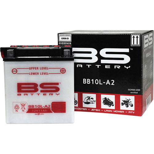 バイクパーツ バイクバッテリーBB10L-A2 (YB10L-A2互換)BSバッテリー BB10L-A2 取寄品
