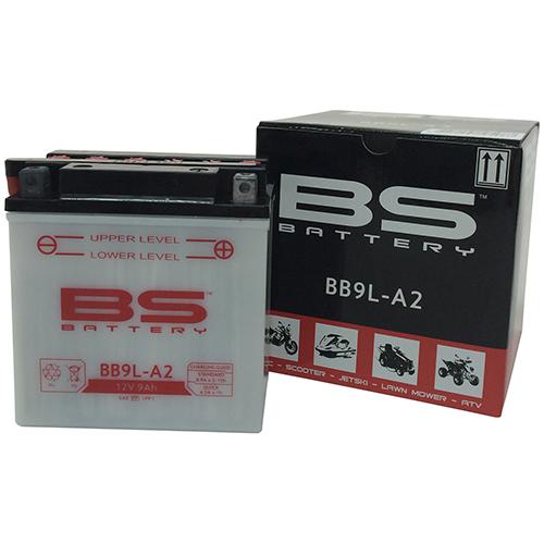 バイクパーツ バイクバッテリーBB9L-A2 (YB9L-A2互換)BSバッテリー BB9L-A2 取寄品