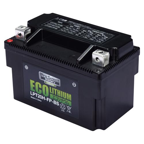 バイクパーツ リチウムイオンバッテリーLPT20H-FP-BS エコリチウムイオンバッテリーPro Select Battery (プロセレクトバッテリー) PSB203 取寄品