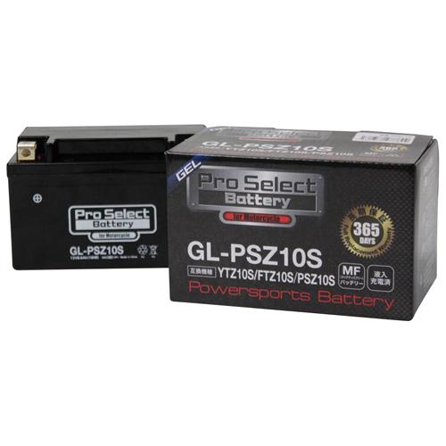 バイクパーツ バイクバッテリーGL-PSZ10S (YTZ10S 互換)(ジェルタイプ 液入り充電済み)Pro Select Battery (プロセレクトバッテリー) PSB113 取寄品