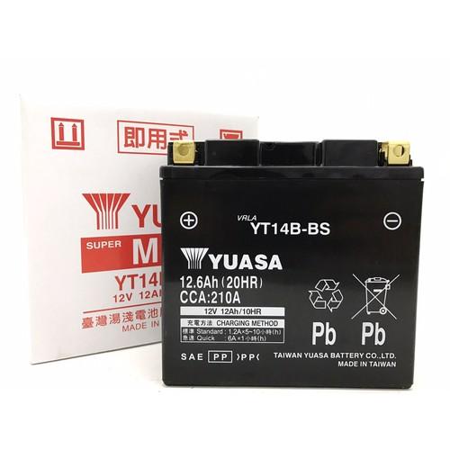バイクパーツ バイクバッテリーTYT14B-BS(GT14B-4互換)台湾ユアサ 取寄品