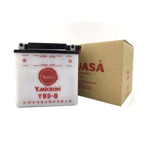 バイクパーツ バイクバッテリーTYB9-B(YB9-B互換)台湾ユアサ 取寄品