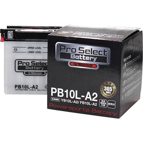 バイクパーツバイクバッテリーPB10L-A2(YB10L-A2互換)ProSelectBattery(プロセレクトバッテリー)PSB028取寄品