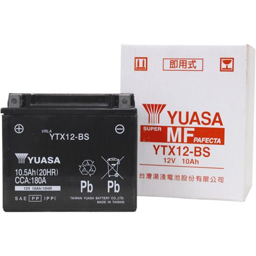 スーパーセール バイクパーツ バイクバッテリーTYTX12-BS (YTX12-BS 互換)台湾ユアサ YTX12-BS 取寄品