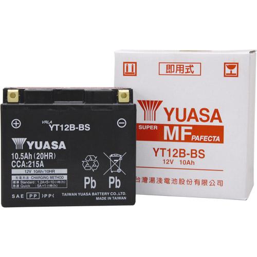 スーパーセール バイクパーツ バイクバッテリーTYT12B-BS (YT12B-BS、GT12B-4 互換)台湾ユアサ YT12B-BS 取寄品