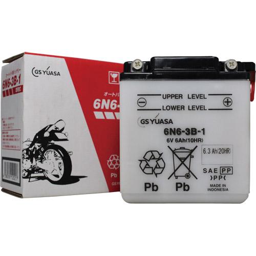 バイクパーツ バイクバッテリー6N6-3B-1GSユアサ 6N6-3B-1 取寄品