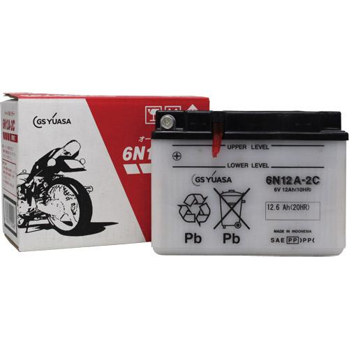 バイクパーツ バイクバッテリー6N12A-2CGSユアサ 6N12A-2C 取寄品