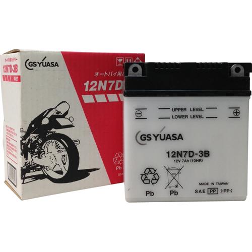 バイクパーツ バイクバッテリー12N7D-3BGSユアサ 12N7D-3B 取寄品