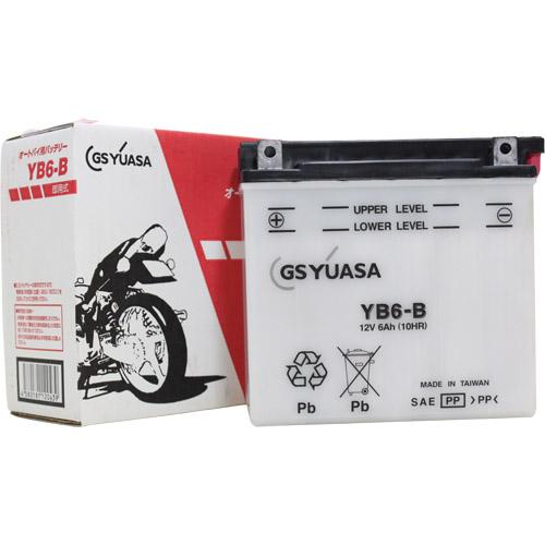 バイクパーツ バイクバッテリーYB6-BGSユアサ YB6-B 取寄品