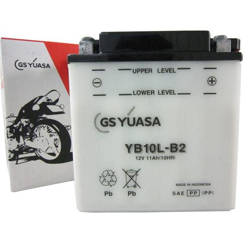 バイクパーツ バイクバッテリーYB10L-B2GSユアサ YB10L-B2 取寄品