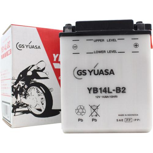 バイクパーツ バイクバッテリーYB14L-B2GSユアサ YB14L-B2 取寄品