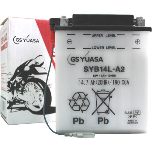 バイクパーツ バイクバッテリーSYB14L-A2GSユアサ SYB14L-A2 取寄品