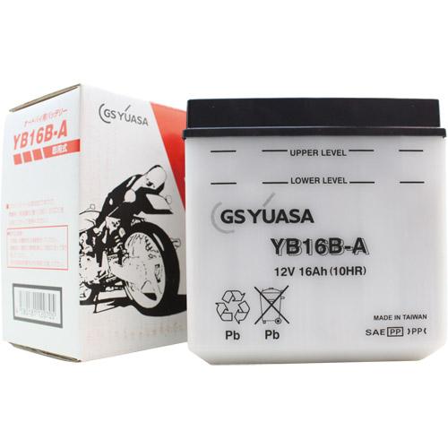 バイクパーツ バイクバッテリーYB16B-AGSユアサ YB16B-A 取寄品