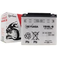 バイクパーツ バイクバッテリーYB16L-BGSユアサ YB16L-B 取寄品