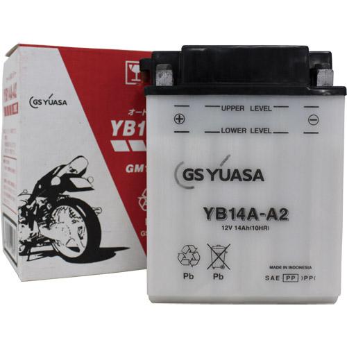 バイクパーツ バイクバッテリーYB14A-A2GSユアサ YB14A-A2 取寄品
