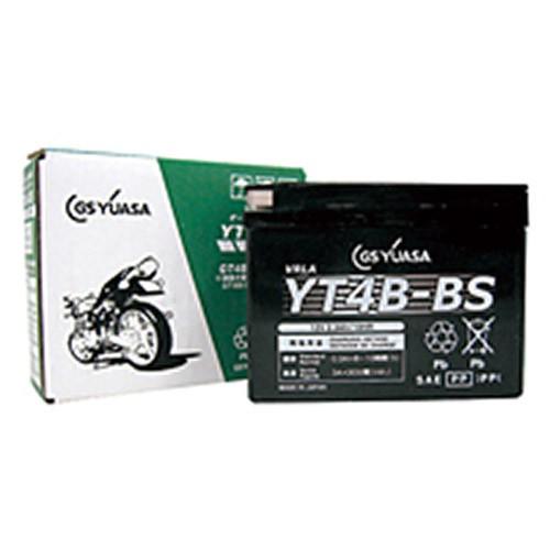 スーパーセール バイクパーツ バイクバッテリー【1個売り】YT4B-BSGSユアサ YT4B-BS 取寄品