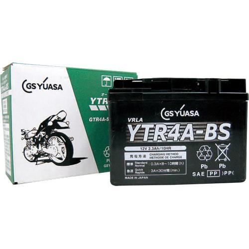 バイクパーツ バイクバッテリー【1個売り】YTR4A-BSGSユアサ YTR4A-BS 取寄品