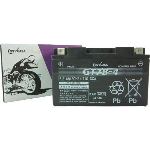 バイクパーツ バイクバッテリーGT7B-4GSユアサ GT7B-4 取寄品